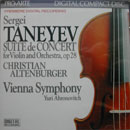 CD Taneyev Suite de Concert